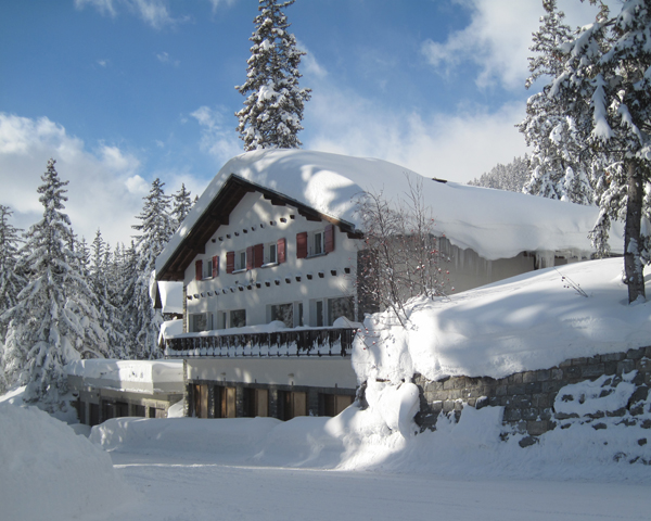 Chalet Perce-Neige Hiver